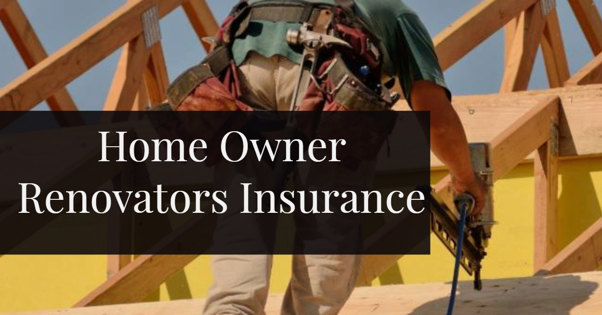 Sydney Home Owner Renovators Insurance