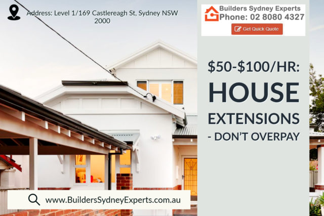 House Extensions Sydney Don't Overpay